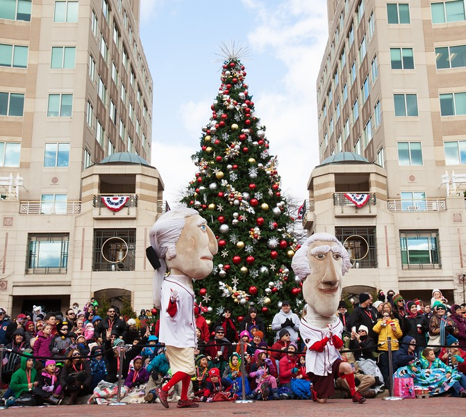 Reston Town Center Holiday Parade 2014