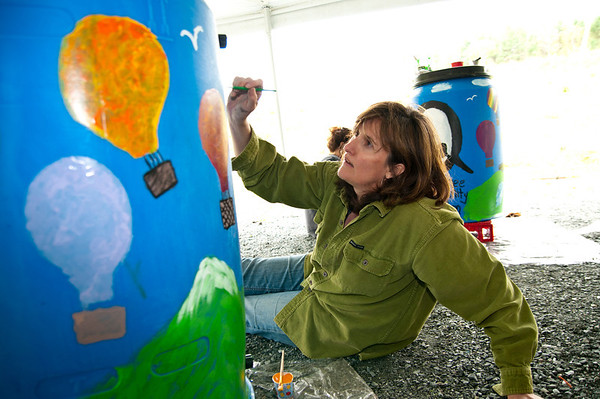Art On A Rain Barrel, 2011