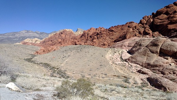 a view of Red Rock Canyon