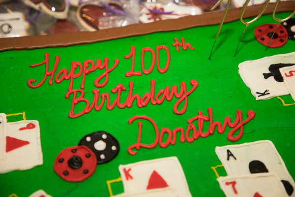 11.24.17 Dorothy's 100th Birthday Details
