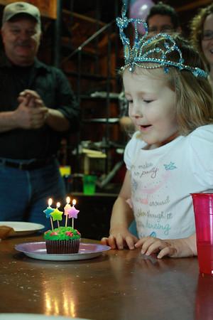 Jillian's Fourth Birthday