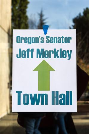 Jeff Merkley in Ashland - 1/3/2020