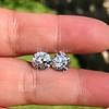 4.08ctw Old European Cut Diamond Pair, GIA I VS2, I SI1 11