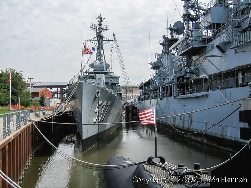 USS The Sullivans (DD-537) - Buffalo, NY