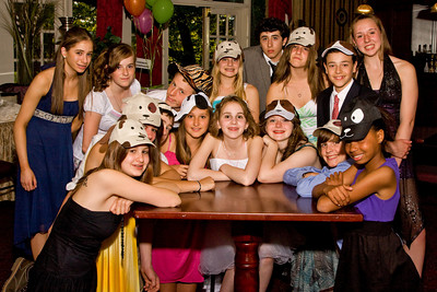 Leah's Bat Mitzvah party