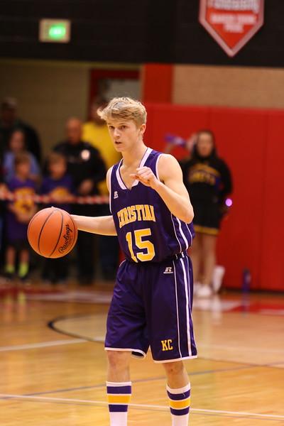 Basketball bva Playoffs Regionals - Quincy - KCHS - 3/15/17