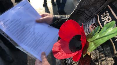 Remembrance Part 3, 10 Nov 2019