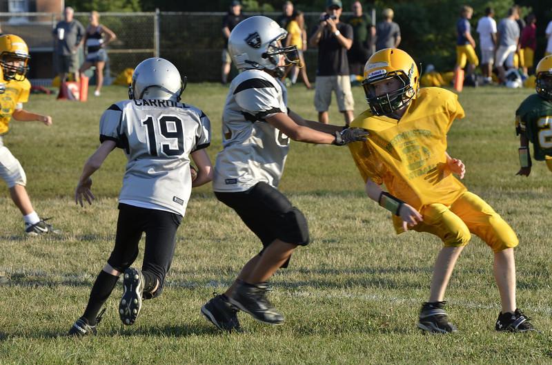 Wildcats vs Raiders Scrimmage 115.JPG