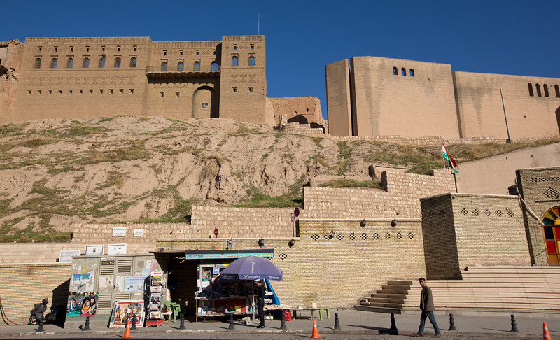 The Citadel in Erbil, currently under restoration by UNESCO and the KRG, it has been has on the World Heritage List since June 2014.