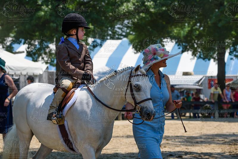 Ponies on leadline 4-6 years