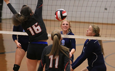 East Burke Varsity Volleyball vs Hibriten Panthers 9-16-2019