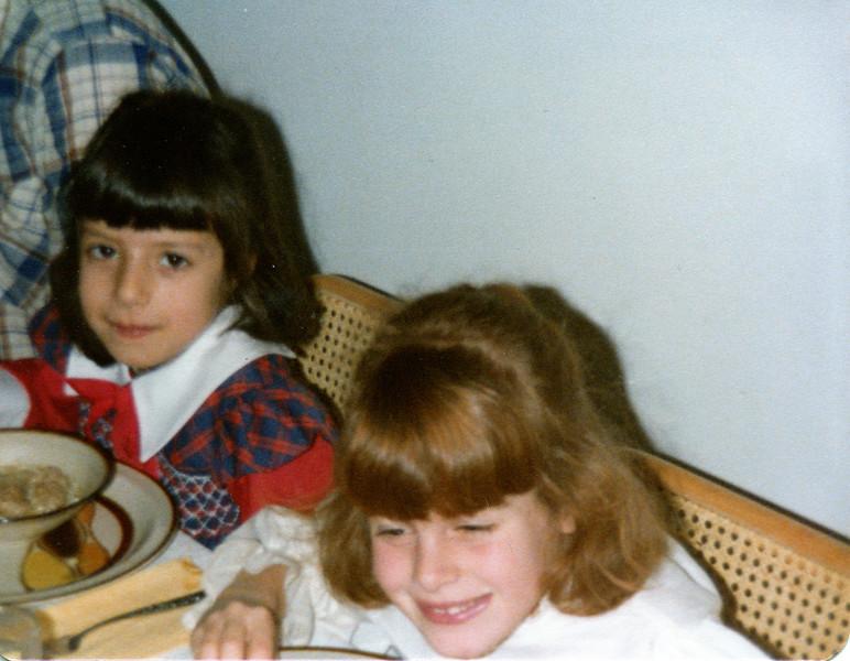 Kristie and Joanie