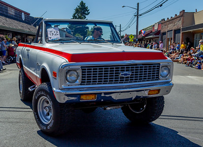 Set four: the Tom Stewart Memorial Classic Car Parade 2018