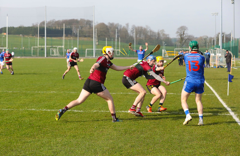 22/02/2019. Fitzgibbon Cup at WIT. Electric Ireland Fergal Maher Cup Semi Final MIC Thurles V St Marys. Picture: Patrick Browne