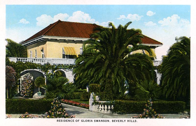 Residence of Gloria Swanson