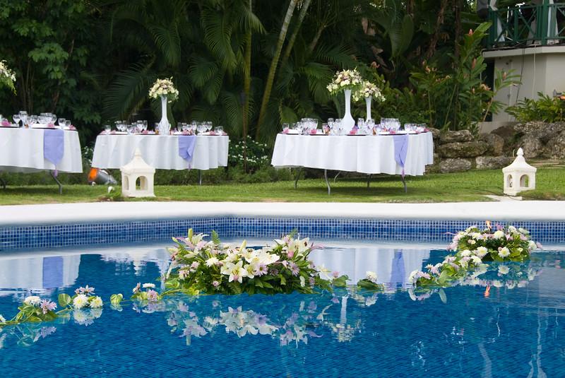 Garden setting for a Wedding