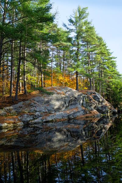 Runaround Pond, Durham, Maine (20218-S)