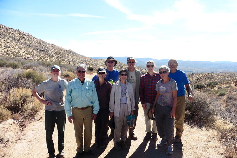 Wilderness Volunteers: 2017 San Bernardino National Forest (California) Service Trip