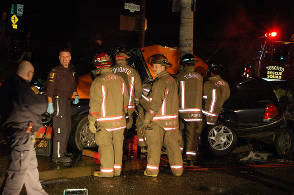 January 24, 2006 - Fatal MVC - Mt Pleasant Rd / Whitehall Ave