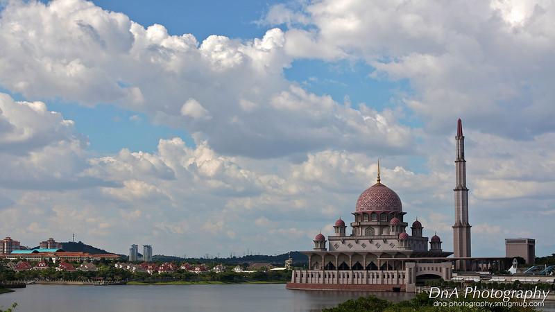 Putra Mosque at Putrajaya Lake