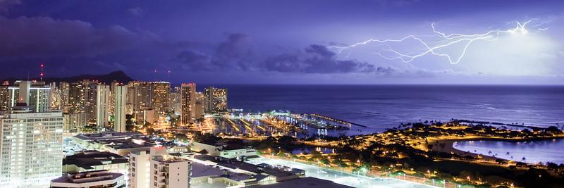 Magic Island Lightning