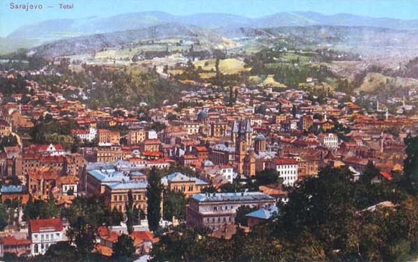 Sarajevo panorama - 1910. g.