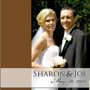 Sharon & Joe Album Spread