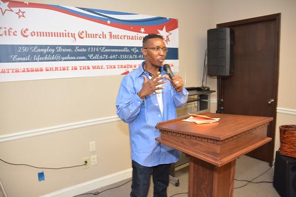 LIFE COMMUNITY CHURCH INT'L. USA