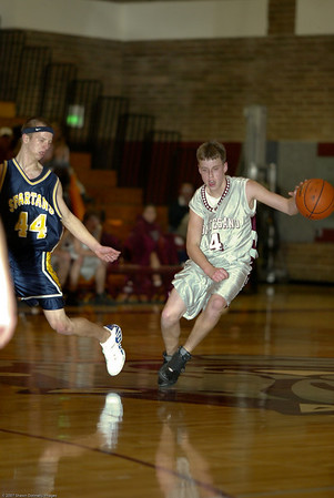 Montesano High School vs. Forks High School, mens jv, January 14, 2008