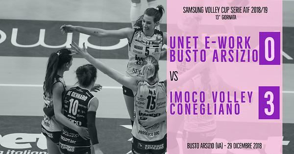 13^ Unet E-Work Busto Arsizio - Imoco Volley Conegliano