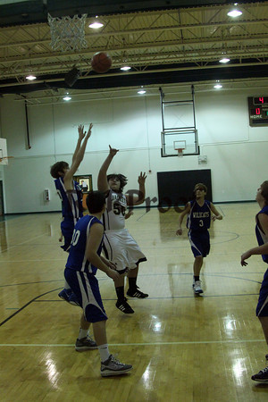 Smith MS 8th Grade vs Wildcats Jan 13, 2012