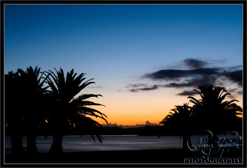 Sunrise at Bay of Islands