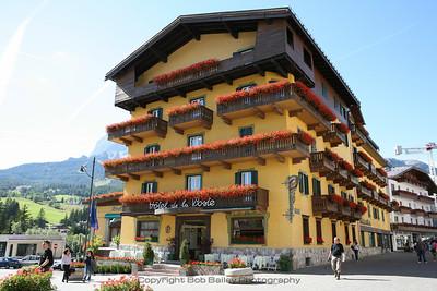 Cortina and Dolomites
