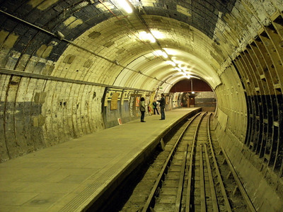 Aldwych Tube Station - 26 November 2011