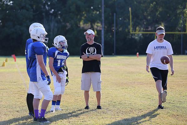 Middle School Football vs Dallas Lutheran 9.25.14
