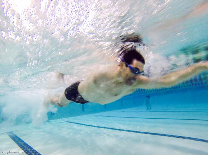 Swim stroke analysis - Eric Wolf