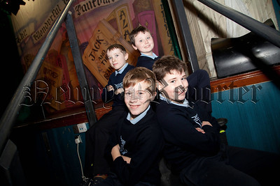 Conor Morgon, Lorcan Savage, Michael Kerr and Liam hughes from st Mary's PS Barr. R1404009
