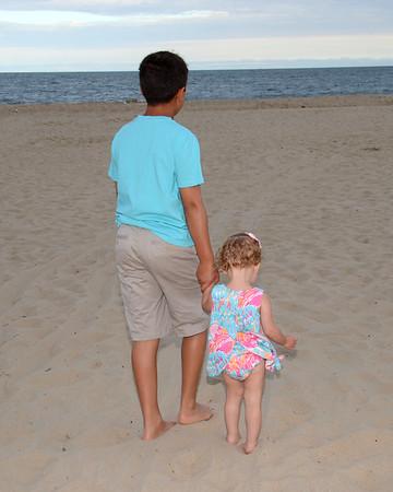 Cicero Family Beach Portraits Aug. 11, 2017