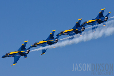 Blue Angels at Fleet Week 2011