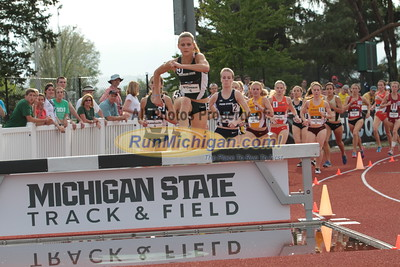 3000M Steeplechase Women Final Gallery 1 - 2015 Big Ten Outdoor