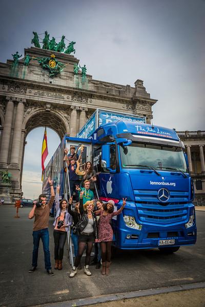 2013_10_02, BE, Belgium, Brussles, Parc du Cinquantenaire, Esplanade de l'Arc de triomphe, Student Recording Session, Session, JLETB,
