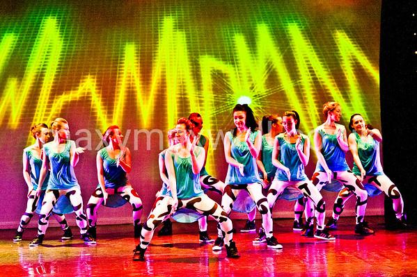 TRIPLE FANTASY 2013 - Dress Rehearsal - East Devon Dance Academy