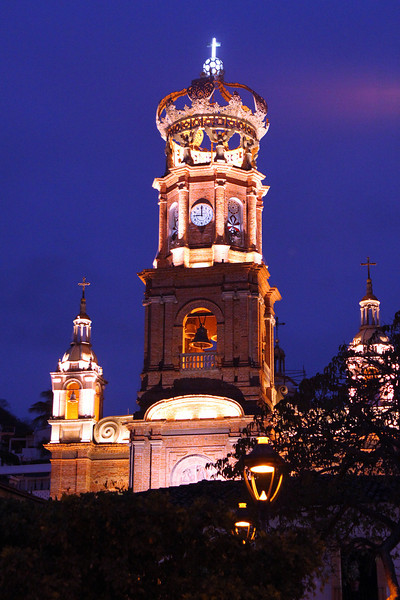 Cathedral of Our Lady of Guadalupe in downtown Puerta Vallarta.