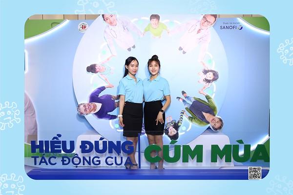 """Sanofi Vietnam   Hội thảo khoa h�c """"HIỂU �ÚNG T�C �ỘNG CỦA CÚM MÙA"""" tại Nikko Hotel Saigon   Chụp ảnh in hình lấy li�n Sự kiện tại TP HCM   WefieBox Photobooth Vietnam"""