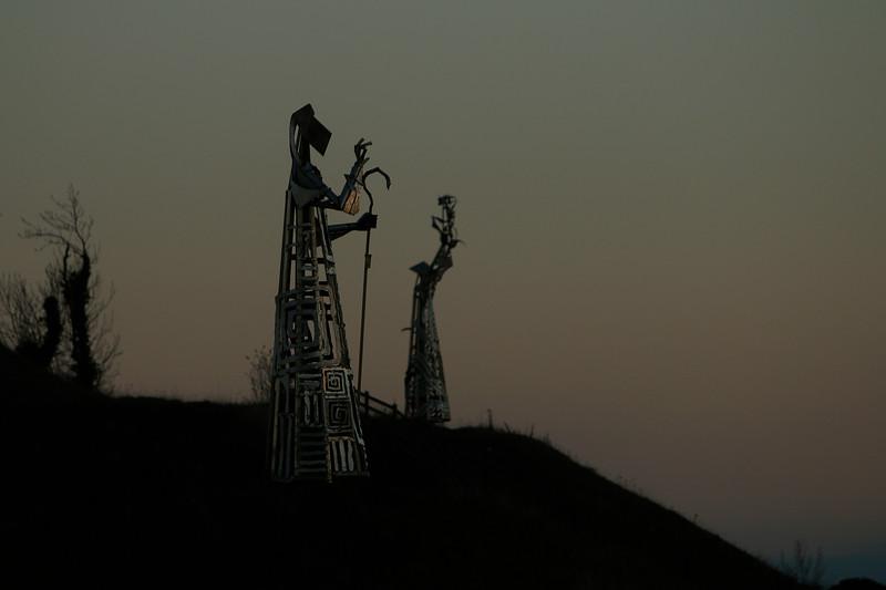 Saints and Scholars statues (artist- Maurice Harron) Tullamore Picture © Niall O'Mara  niallomara@me.com