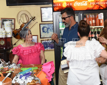 Dolores Huerta Los Zarapes Restaurant 3-19