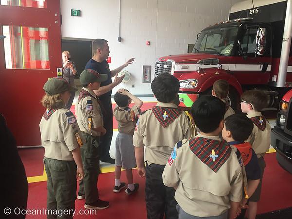 20190502 Alexandria, VA - Webelos @ Alexandria Fire & Rescue