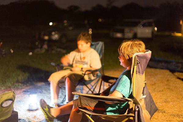 Camping at Berry Springs