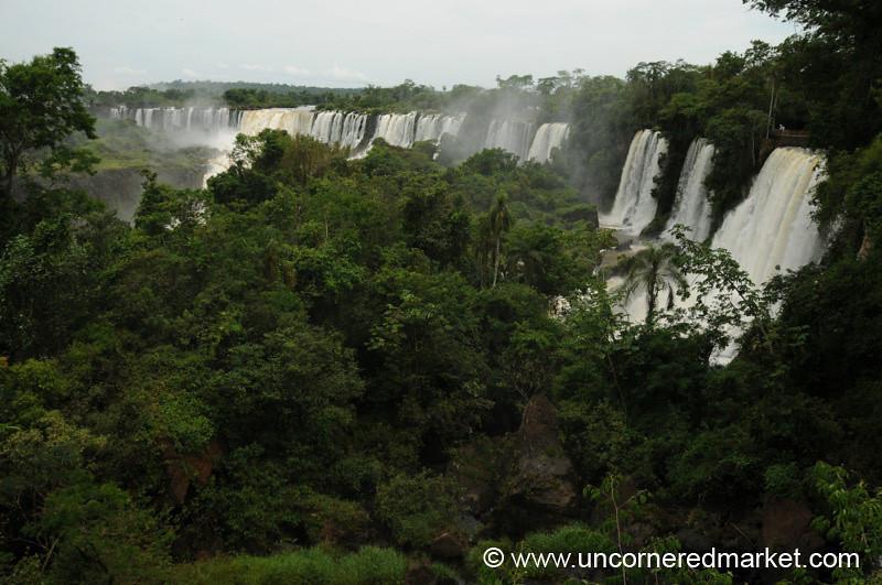 Falls as Far as the Eye Can See - Iguazu Falls, Argentina