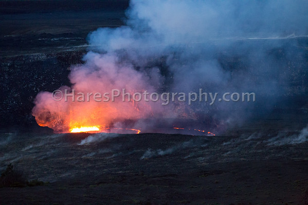 Hawaii Volcanoes NP Crater and Lava lake 2018